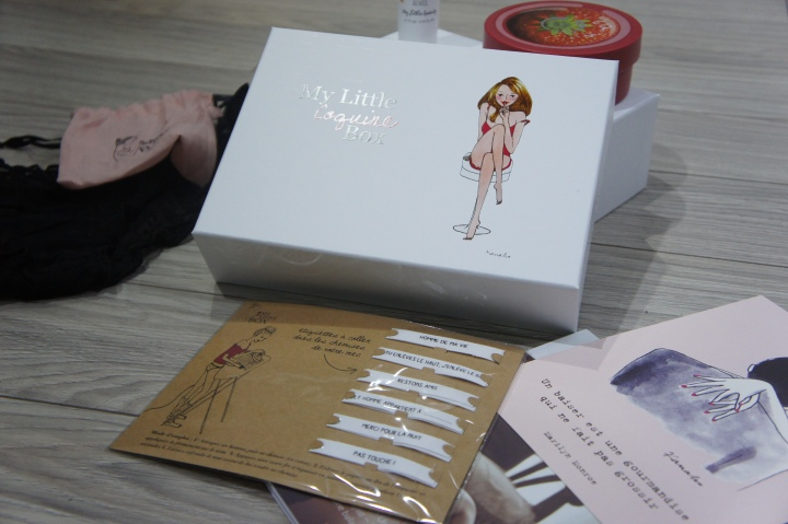 My Little Box de février : My Little Coquine box