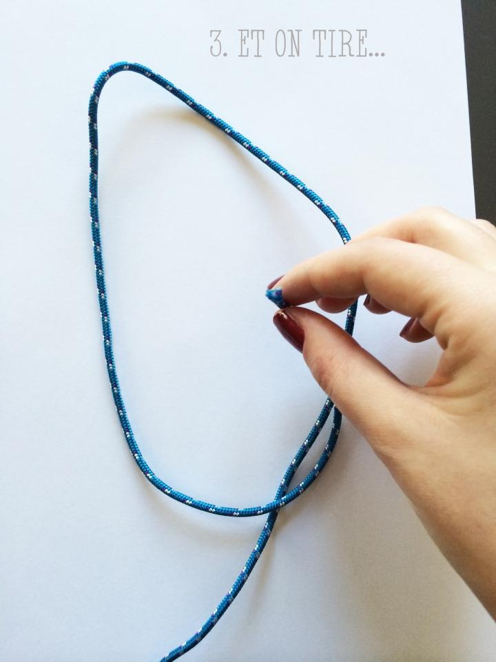 collier corde escalade