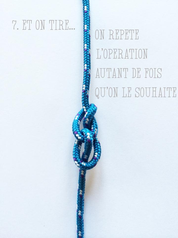 collier corde escalade diy
