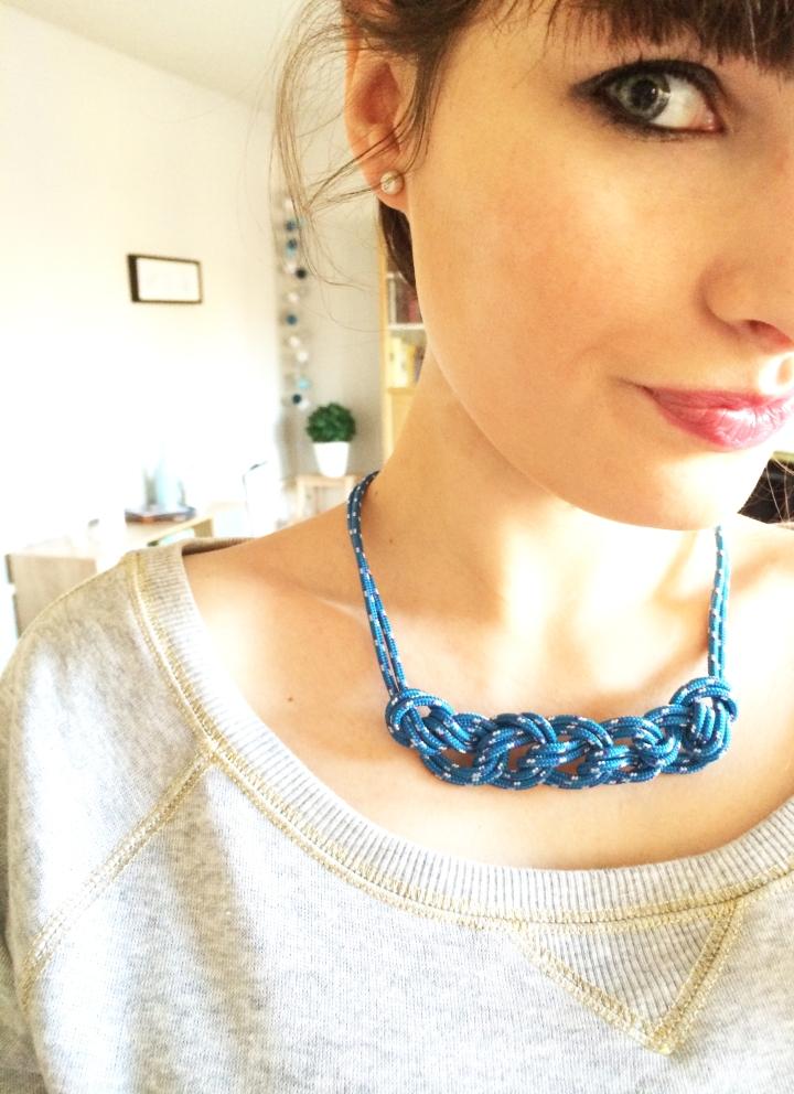 DIY : Votre collier en corde d'escalade