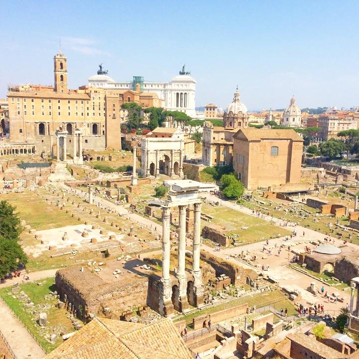 Mon voyage à Rome : souvenir de la dolce vita..!