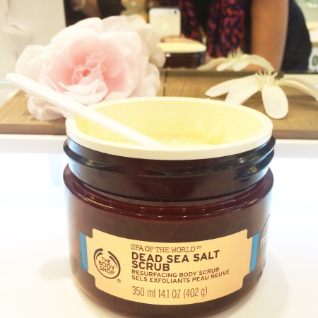sea salt the body shop
