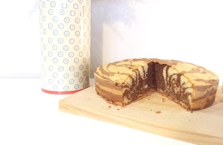 gâteau zébre